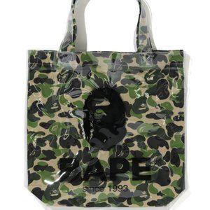 A BATHING APE Bape ABC Clear Tote Bag